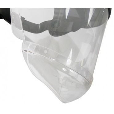 Visor + Chinguard (protector de cuello PC)